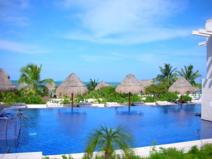 Cancun Residences with a Marina and Golf Course