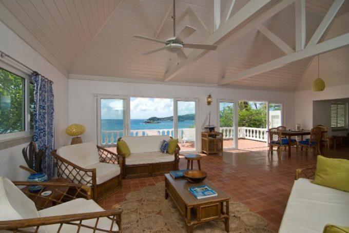Caribbean Ocean View House: Friendship Garden House