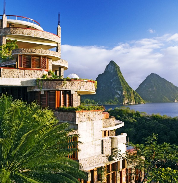 St Lucia ~ Jade Mountain ~ Build memories on St Lucia