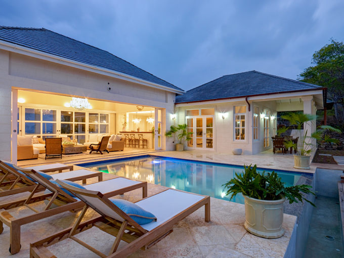 Luxury villa for sale on Bequia island with ocean views