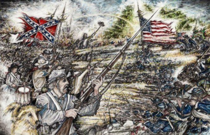 Wiley Studio – 150th Gettysburg Reenactment Beginning