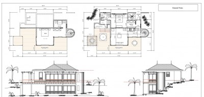 Baie Du Sucre two bedroom cottage layout