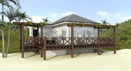 Baie de Sucre Beach Cottage Visual