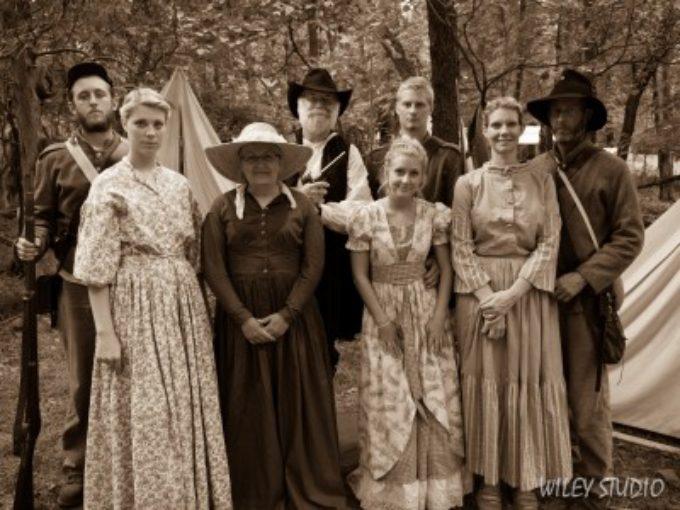 150th Gettysburg Reenactment Photos: Family