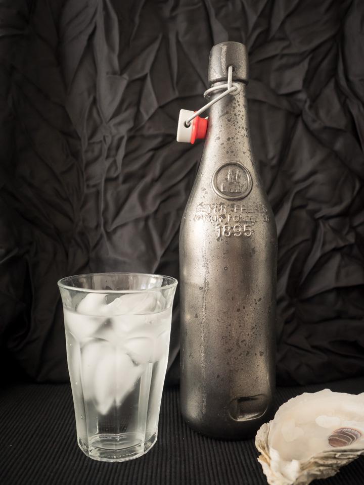 Faux Mercury Bottle