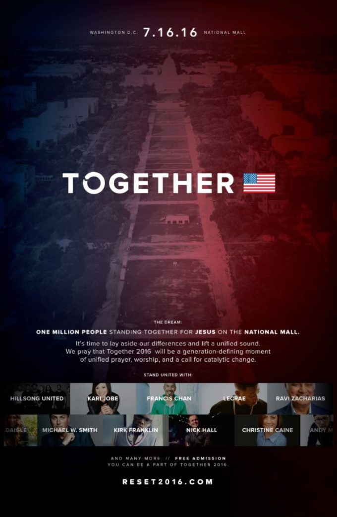 TOGETHER 2016 on the National Mall 7.16.16