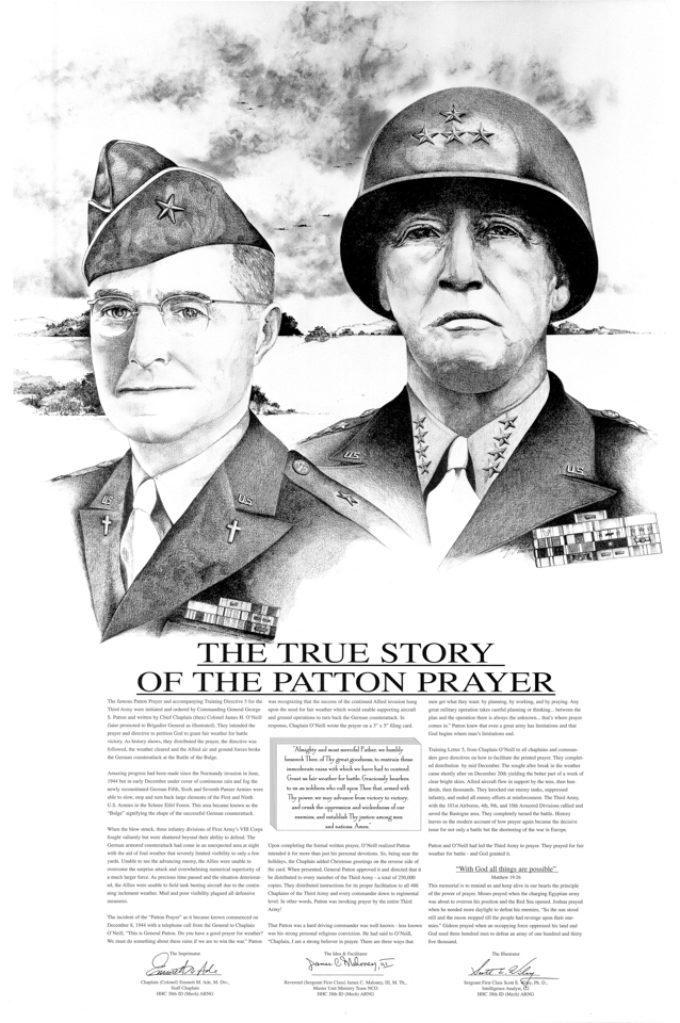 "Christmas, Survival, and ""The True Story of The Patton Prayer"""